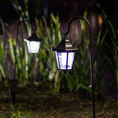 GIGALUMI Inch Solar Lights Outdoor, Hanging Coach with