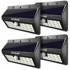 Qedertek 28LED Solar Motion Sensor Lights, Wall Light, Wirel