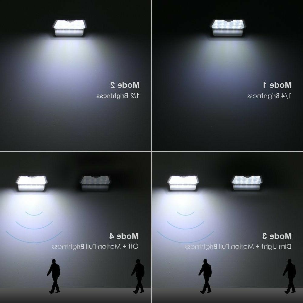29 LED Solar Gutter Sensor Security