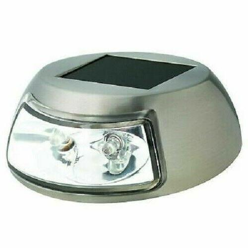 Hampton Bay 2Light Stainless Steel Outdoor Integrated LED So