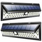 2pack wall lights solar 54 led super