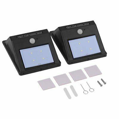 2pc LED Solar Motion Sensor Garden BP