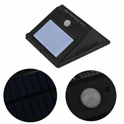 2pc LED Solar Powered Motion Sensor Garden Flood BP