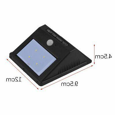 2pc LED Solar Powered Motion Sensor Light Outdoor Garden Lamp BP