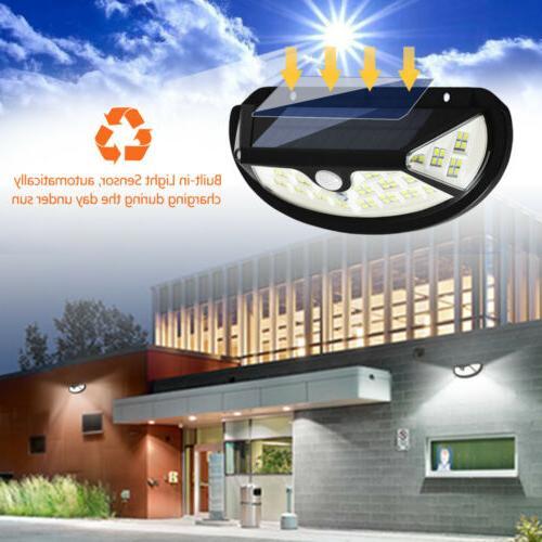 2Pcs Solar Sensor Backyard Fence Porch