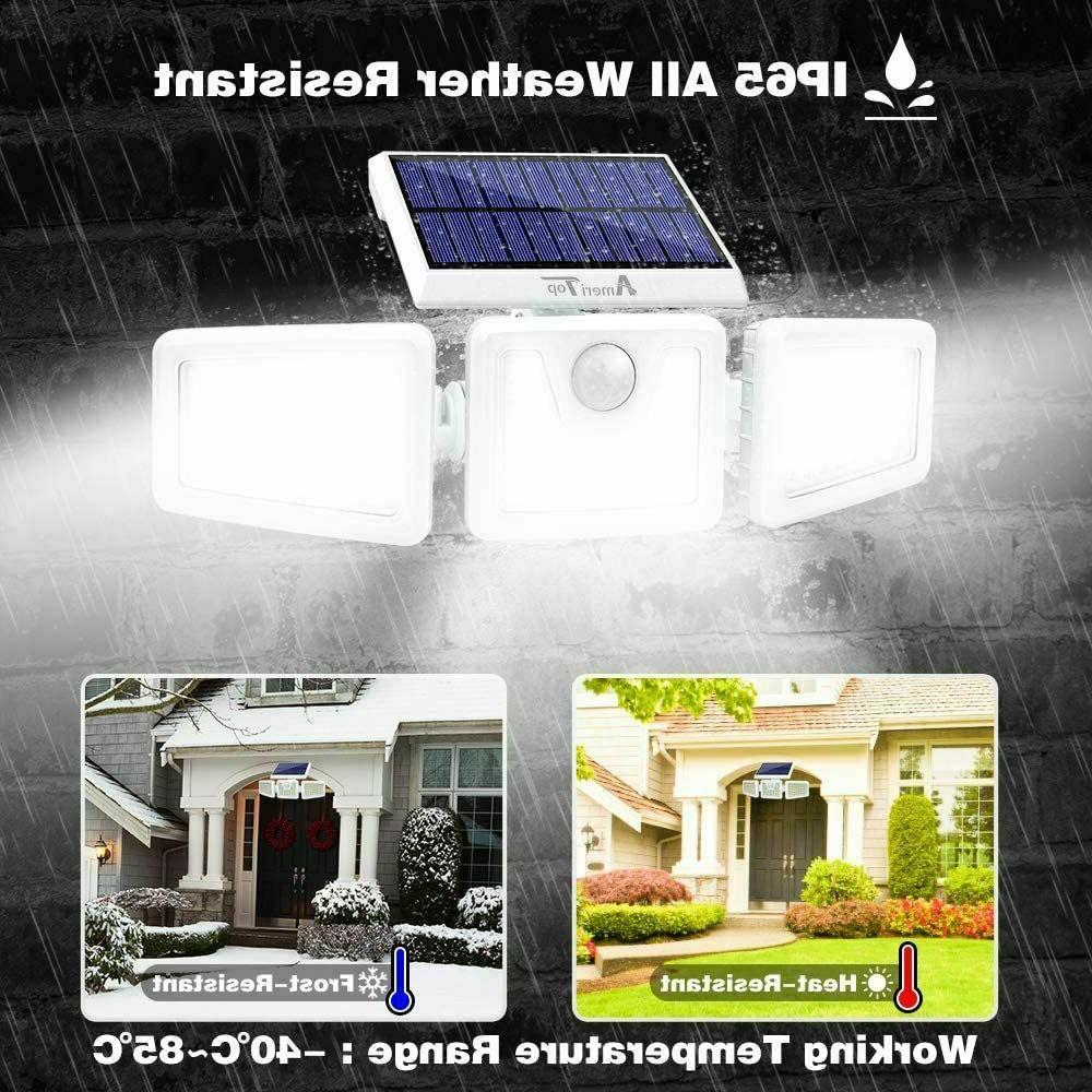 2Pack Solar Outdoor,Security Motion 3