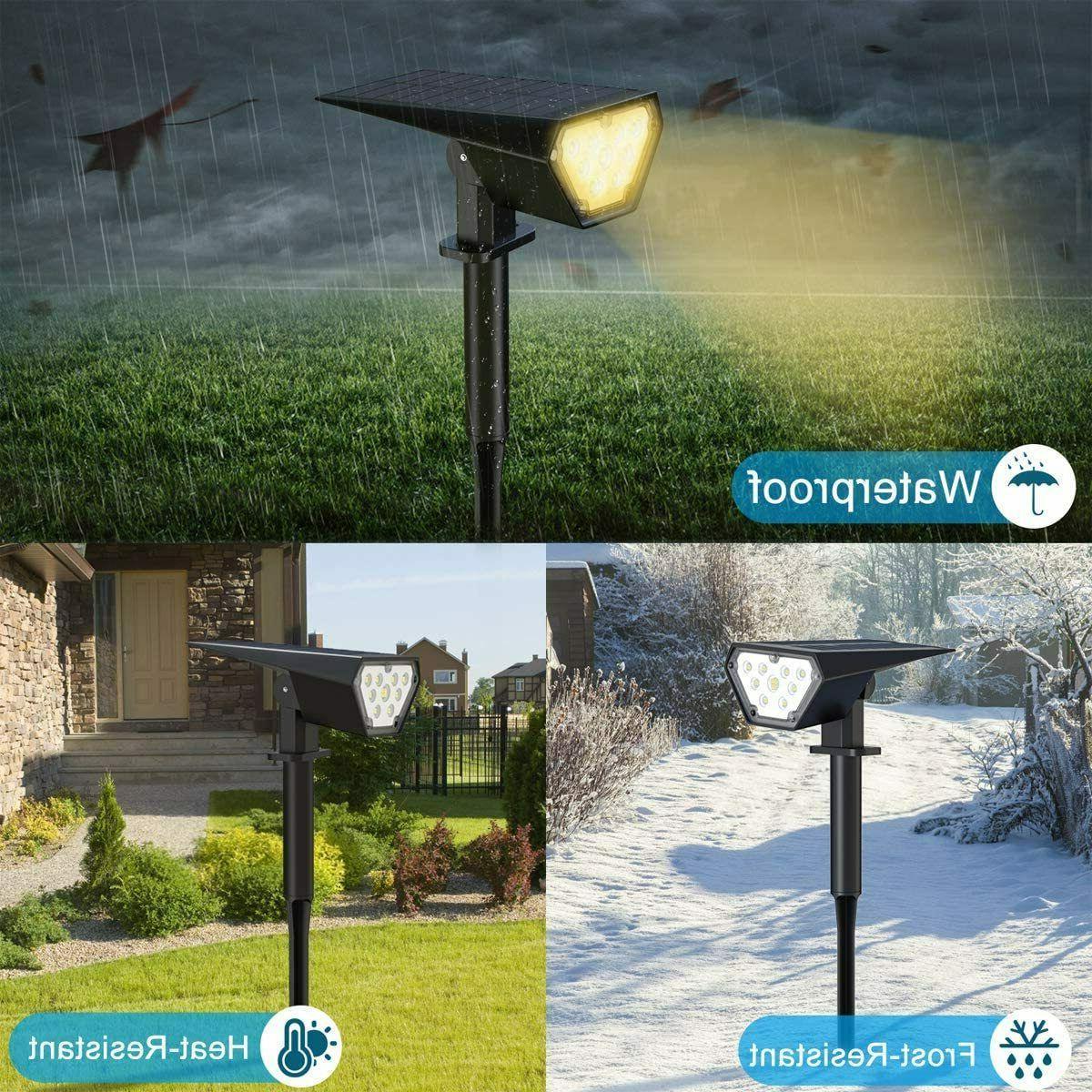 2Pk Landscape 12 LEDs Solar Outdoor Light