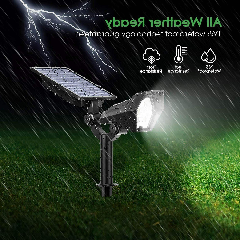 2Pk Landscape 12 LEDs Lights Outdoor Solar Security