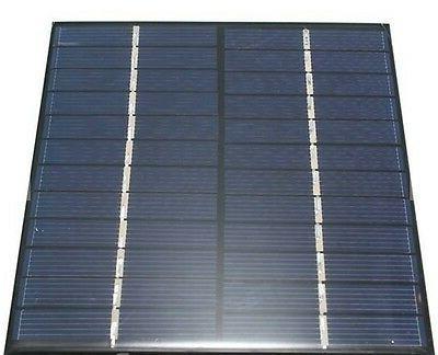 2W 0-160mA Solar Panel models display light
