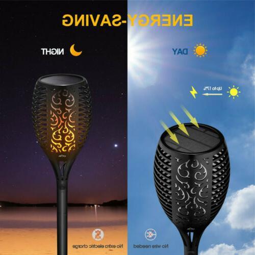 2X LED Power Dancing Flickering Waterproof Lamp