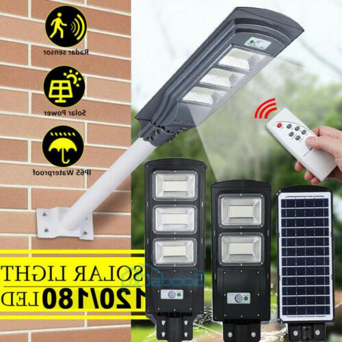 2X 990000LM LED Solar Light Commercial IP67 Dusk to Road