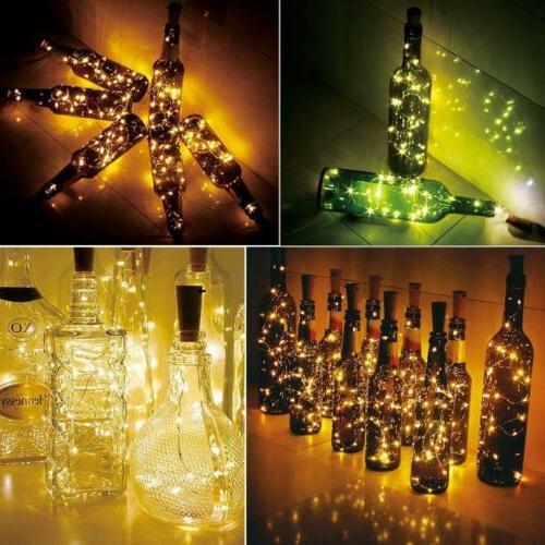 3/6 Solar Lights 10 LED Shaped Fairy Garden