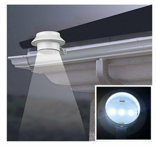 3 LED Solar Gutter