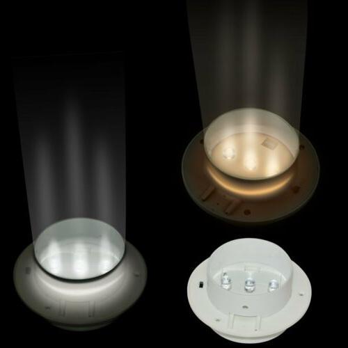 3 LED Solar Powered Gutter Lamp