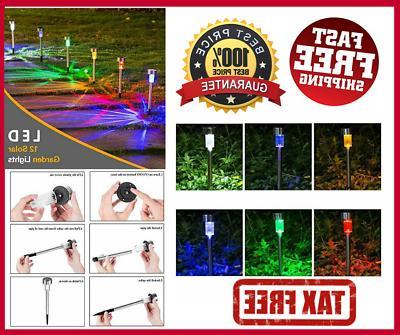 3 pack led solar garden lights 3