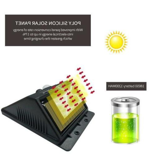 30 LED Solar Wireless Waterproof Motion Sensor Outdoor Pack