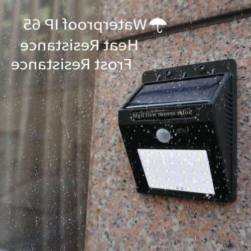 30 Light Wireless Waterproof Motion Sensor Outdoor - 2 Pack