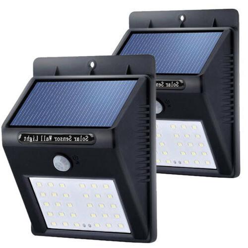 30 led solar light wireless waterproof motion