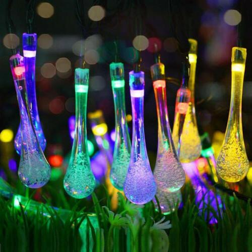30 LED Solar String Lights Outdoor Waterproof Garden Path Ya
