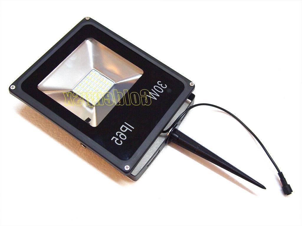 30W Solar Flood Light + Remote