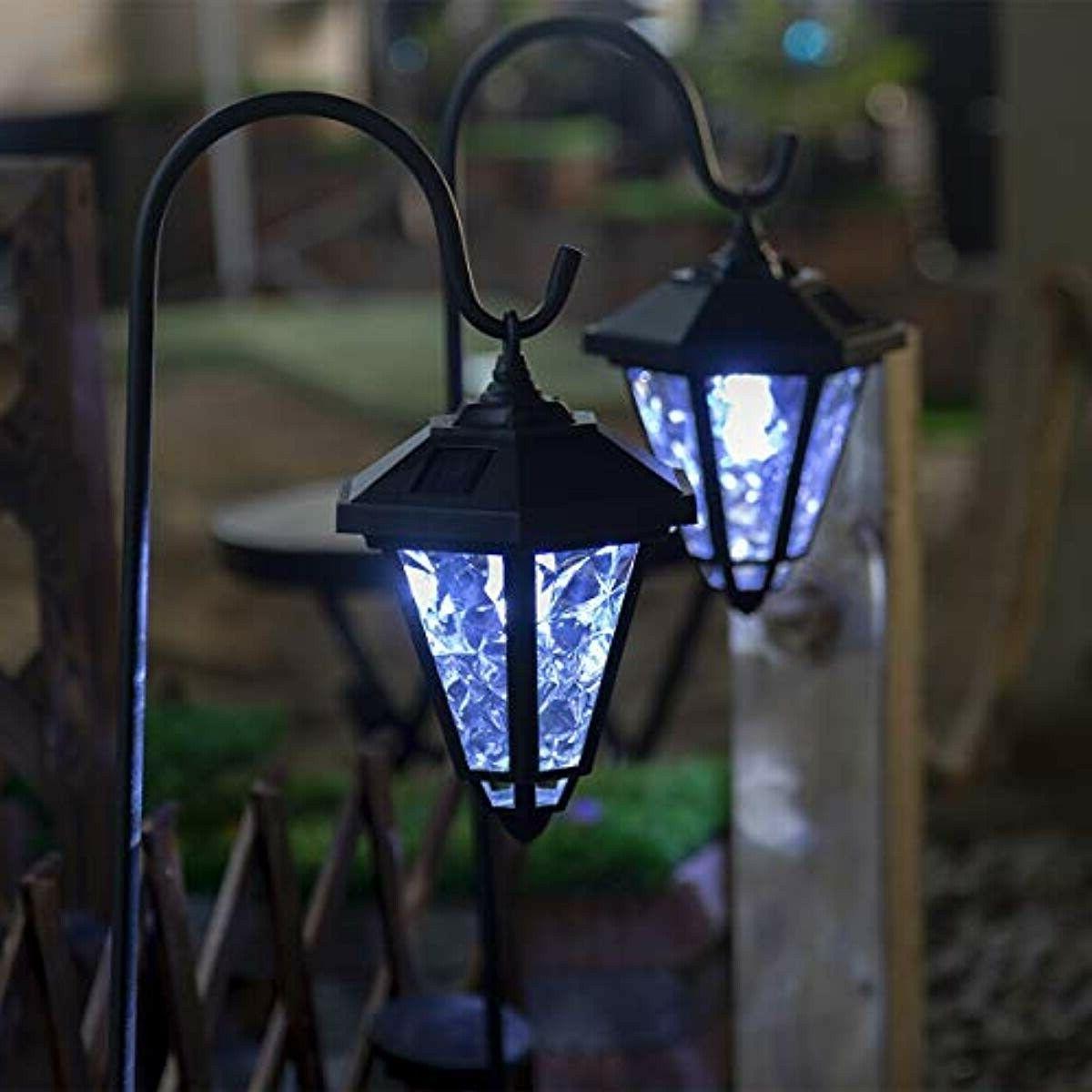 GIGALUMI Lights Hanging Solar Coach Lantern