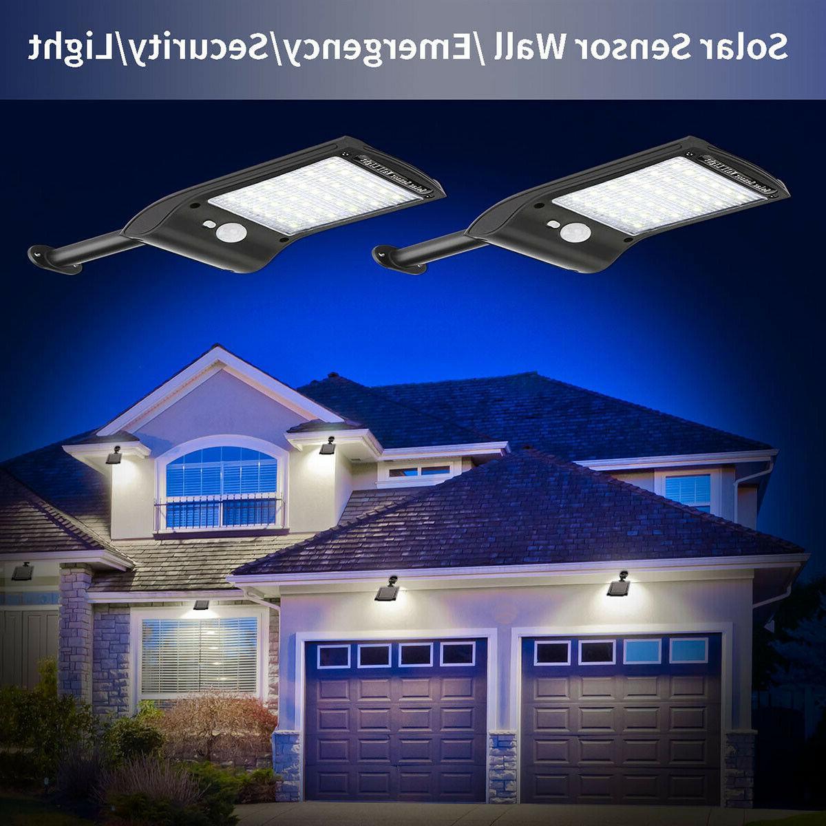 36 Motion Sensor Light Outdoor Waterproof Lamp