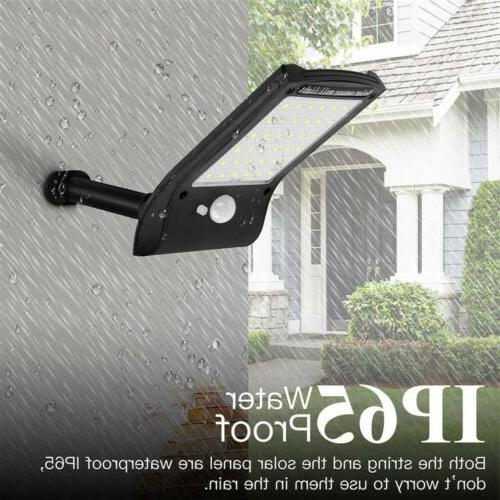 36 LED Solar PIR Motion Waterproof Outdoor Garden Lamp
