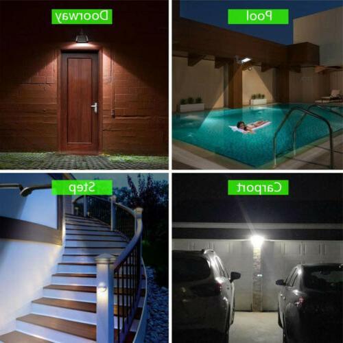 36 Solar PIR Outdoor Garden Yard Lamp