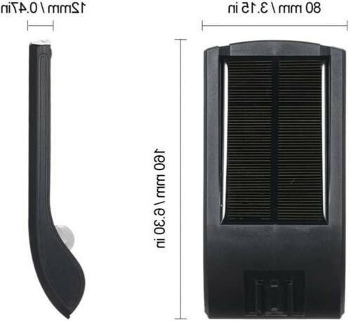 36 Lights PIR Waterproof Outdoor Wall Lamp