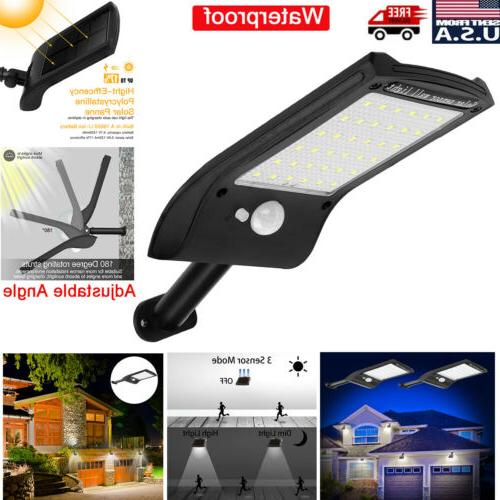 36 led solar lights pir motion sensor