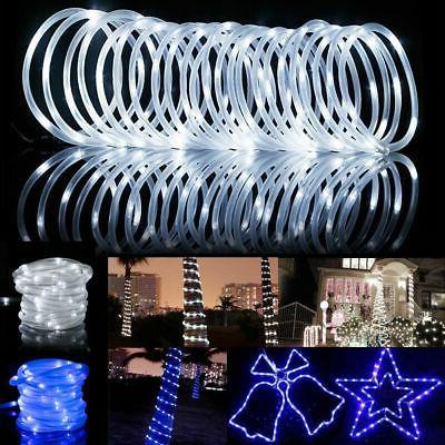 39ft 100leds solar rope tube fairy lights