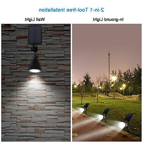 InnoGear 3rd Sensor Solar Light LED Auto On/Off for Yard Pack of 2