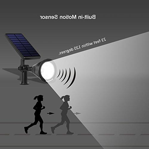 InnoGear Sensor Spotlight Outside Garden Light Security Lighting Auto On/Off Yard Walkway Pack of