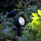 4/8/12 Pack Solar 3 LED Spot Light Landscape Path Lights Bri