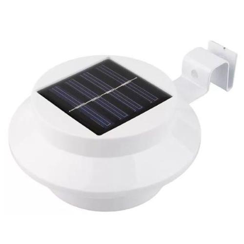 4 Solar Gutter Fence Outdoor Garden Lamp