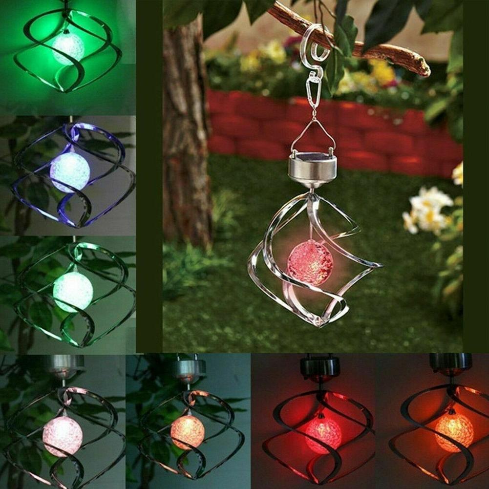 4 led solar garden lamp spot light