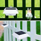 With 4 LED Solar Power Motion Sensor Garden Security Gutter