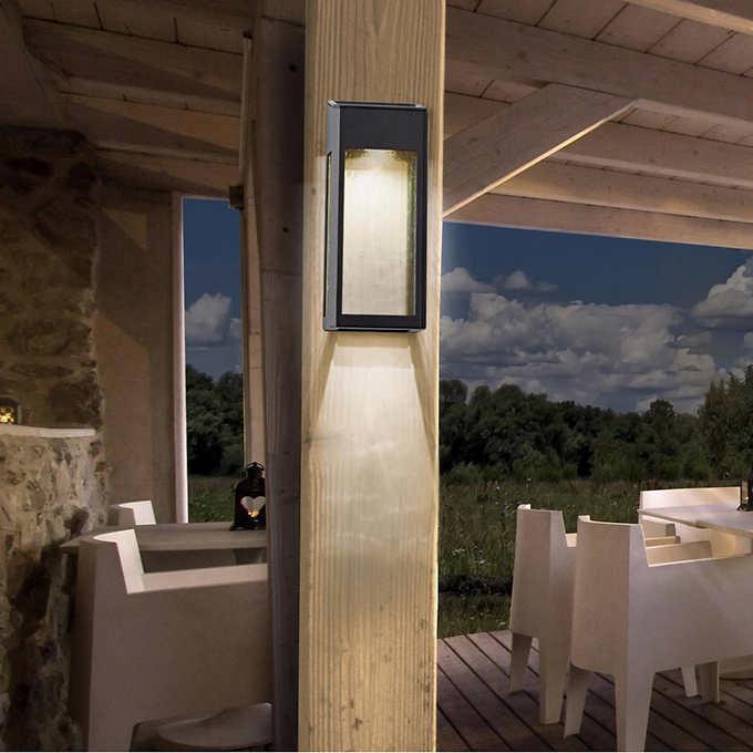 4 Pack 10lumen Paradise Solar Led Accent Lights Deck Dock