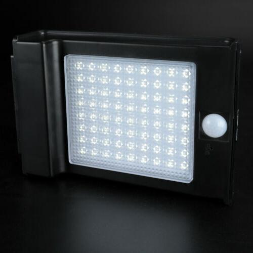 4 Solar Power Gutter Security Wall Light Lamp