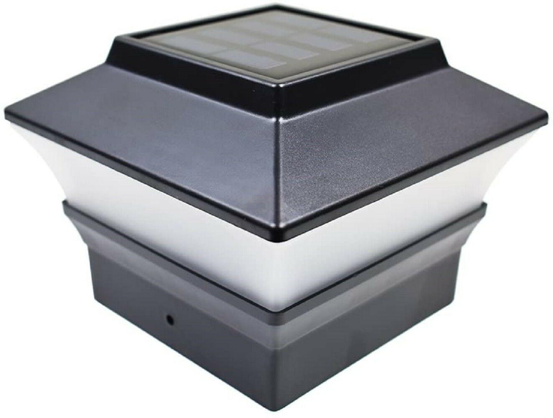 "8-Pack Black / Brown 4""x4"" Solar Post"