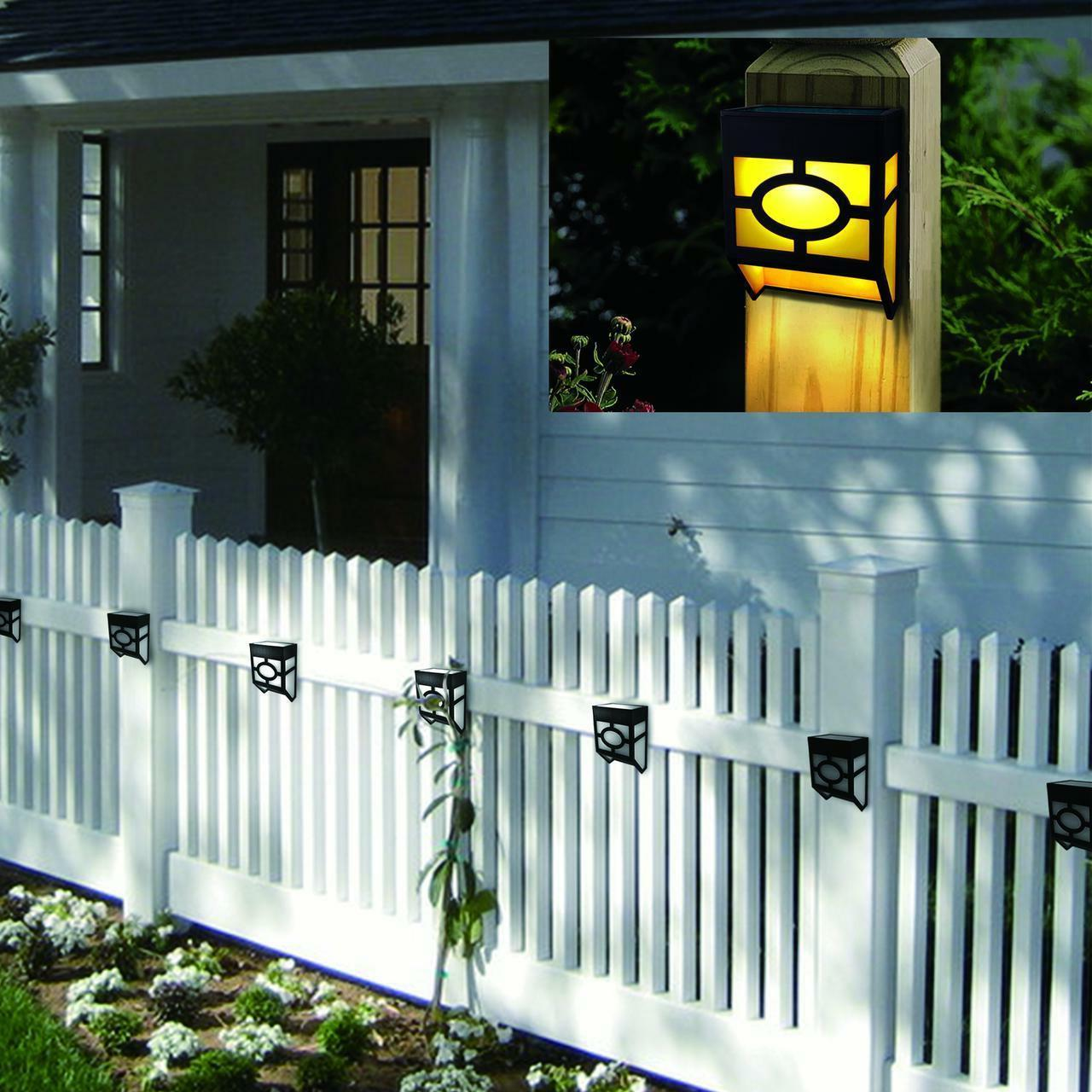 4 Deck Landscape Garden Yard Fence Warm