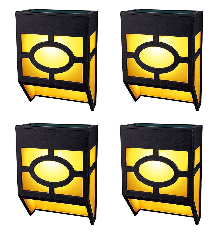 4 pack powered deck wall mount lights