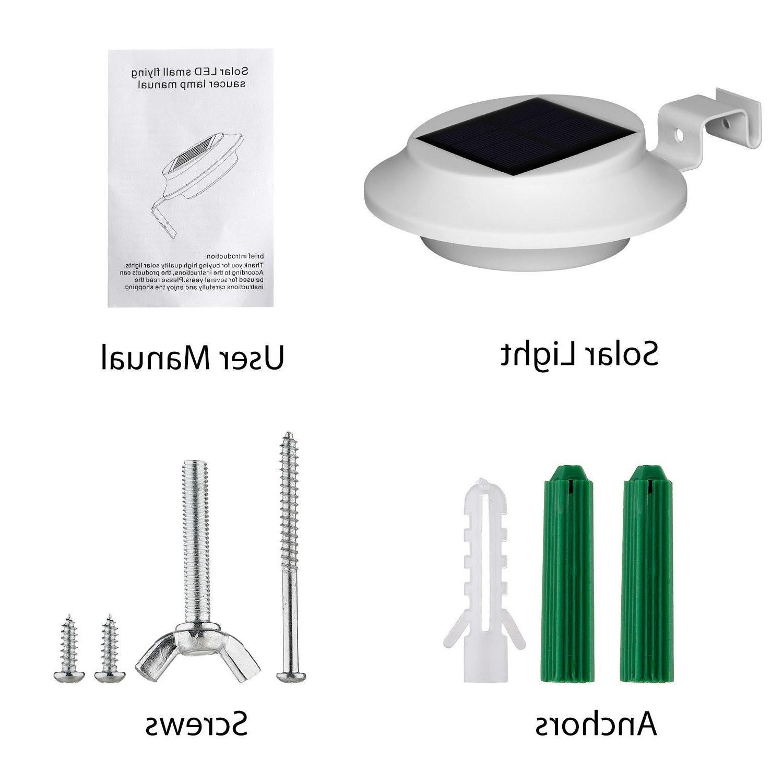 4 Pack Gutter Outdoor Lamp