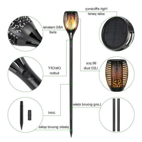 4 Packs Solar Flame For