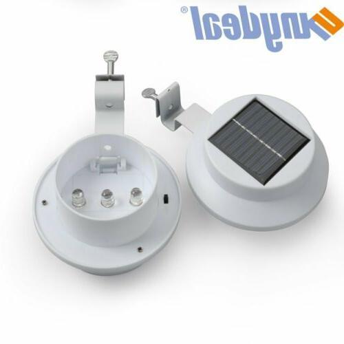 8x LED Power Light Outdoor Security Gutter WarmCool