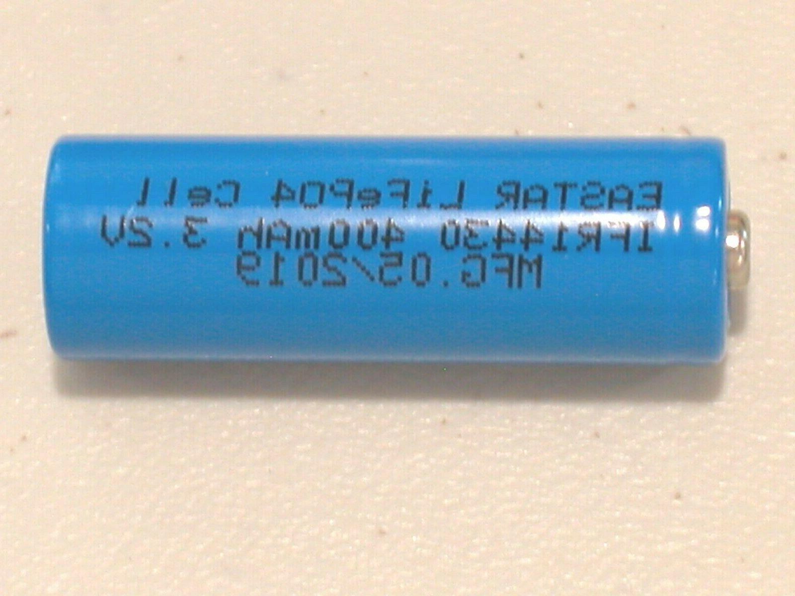 4 EASTAR 14430 3.2v LiFePO4 BATTERY 400mAh