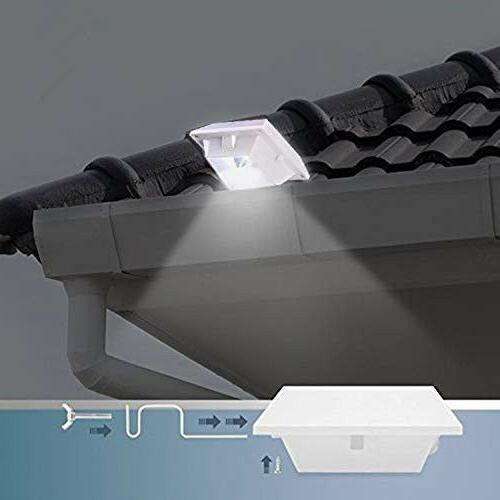 6pcs Solar Lights Outdoor Garden Fence Lamps Security