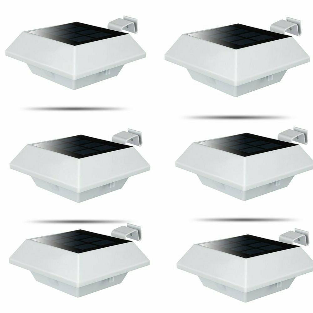 6pcs 12LEDs Gutter Lamps Waterproof