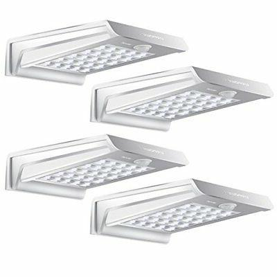4 pcs waterproof 20 led solar power