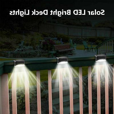 4 LED Deck Garden Patio Lighting